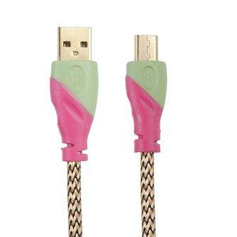 Gevlochten Micro USB Kabel