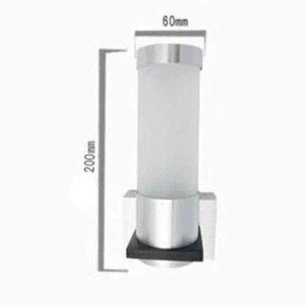 Aluminium LED Muurlamp Tube