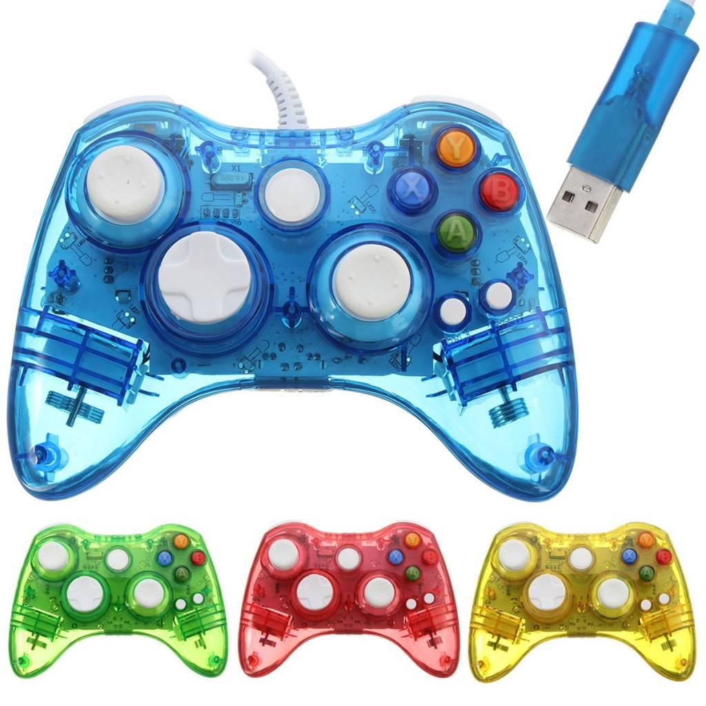 USB Xbox 360 Controller Lichtgevend
