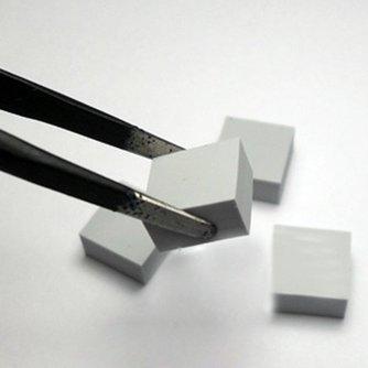 Warmte geleidende kussentjes van siliconen