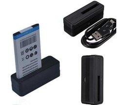 Micro USB Batterij Oplader voor de Samsung Galaxy Note 4