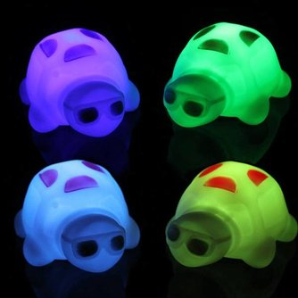 LED Schildpad Nachtlamp