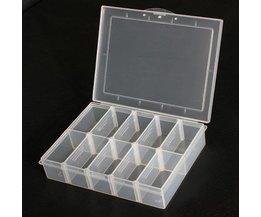 Plastic Opbergbox 10 Vakken