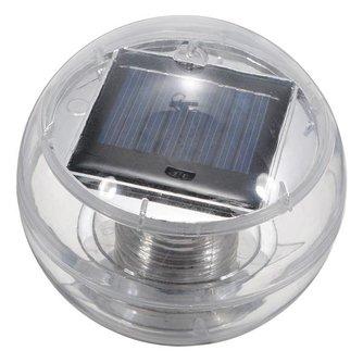 Drijvende Tuinverlichting Op Zonne Energie