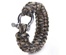 Survival Paracord Armband met Beugelsluiting