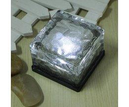 Stenen Led Tuinverlichting op zonne energie