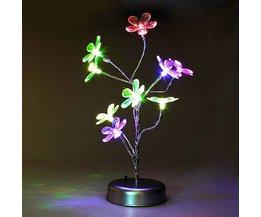LED Lamp met Bloesem