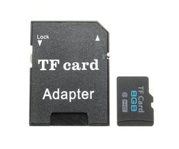 8GB Micro SD Kaart met Adapter