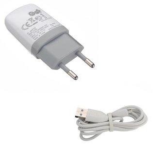 Gsm Oplader en Micro USB Kabel