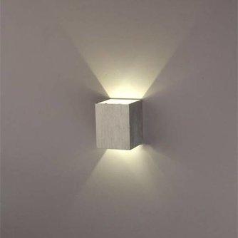 Vierkante Lamp Licht aan Twee Zijden