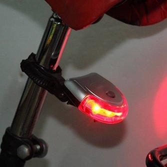 5 Led Ufo Waarschuwingslamp voor de Fiets