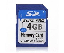 SD Kaart 4GB