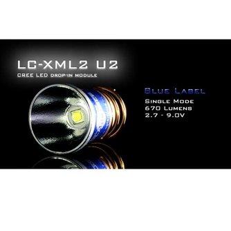 Solarforce Cree XM-L2 U2 LED Lamp
