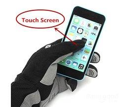Schokbestendige Touchscreen Fiets Handschoen