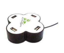 USB Hub Met Voeding en Luchtreiniger