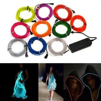 4M Neon Licht EL Wire