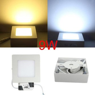 LED Spot Dimbaar Vierkant