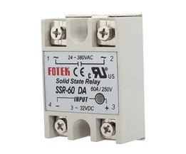 Solid State Relais SSR-60A met Output AC24-380V