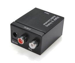 Audio Converter Digitaal naar Analoog