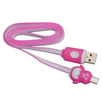 Micro USB Kabel met Pinguin