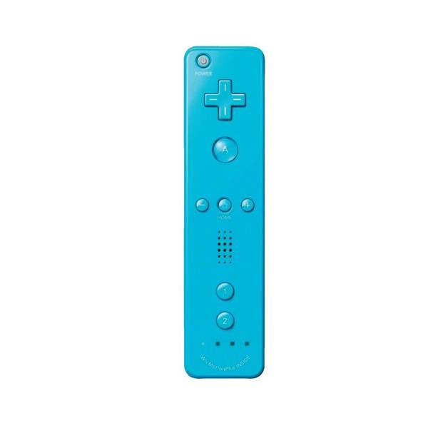 Blauwe Motion Plus Controller voor Nintendo Wii & Wii U