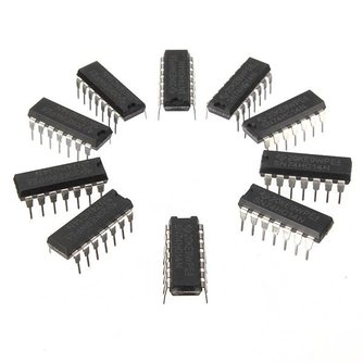 SN74HC14N IC Chip Schmitt Trigger 10 stuks