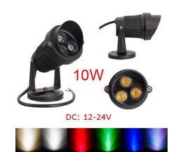 10 W LED Spot voor Buitenverlichting