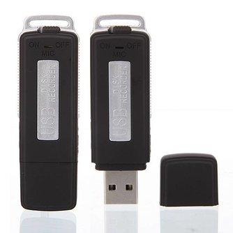 USB Spraakrecorder 4GB