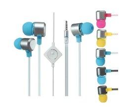 In-ear Oortjes met microfoon voor iPhone en iPad