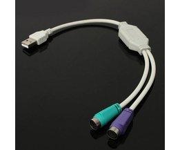 USB naar PS/2 Adapter