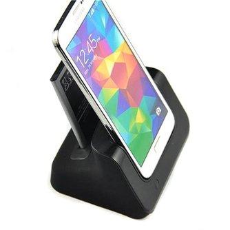 2-IN-1 Bureau Lader voor  Samsung S5