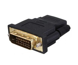 Van DVI Male naar HDMI Female Converter