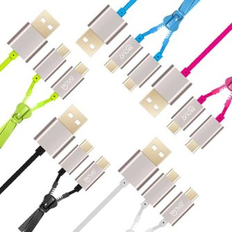 LENUO Dubbele Micro USB Kabel