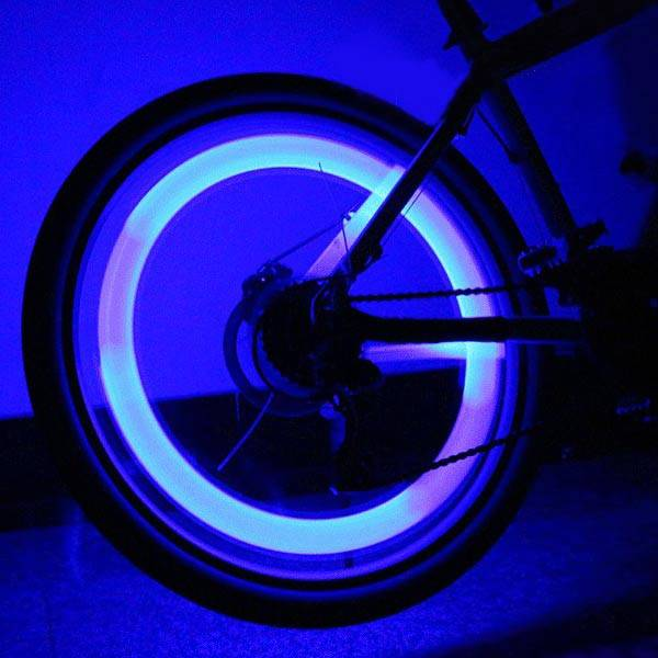 fietswiel led verlichting haai vorm