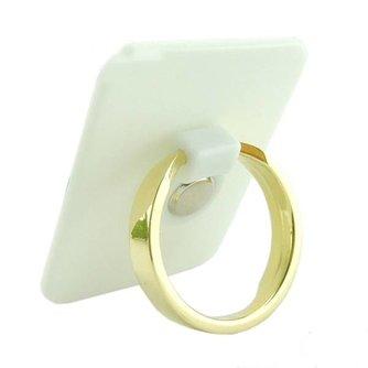Universele Tablet en Smartphone Houder Gouden Ring