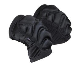Zwarte Padded Kniebescherming voor Sporten