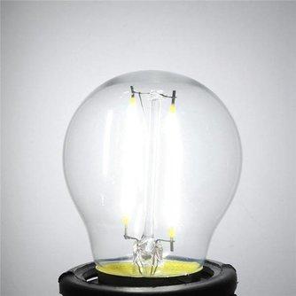 E27 2W LED Lamp met gloeidraad
