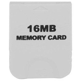 16MB Geheugenkaart voor de Nintendo Wii en Gamecube