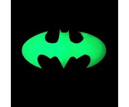 Reflecterende Sticker Fiets in Vleermuisvorm