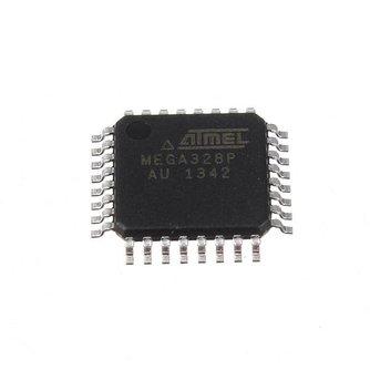 Microcontroller IC ATMEGA328P-AU TQFP-32 ATMEL Chip