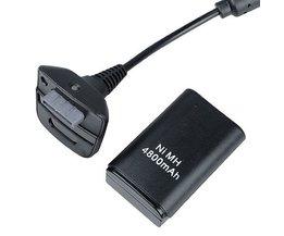 Batterij voor Controller Xbox 360