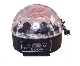 Stemgevoelige LED Discolamp