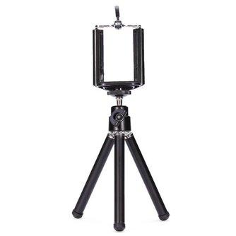 360 Graden Draaiende Tripod voor Camera\'s en Smartphones