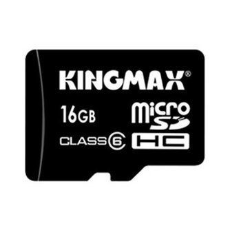 Kingmax Micro SD Kaart 16GB