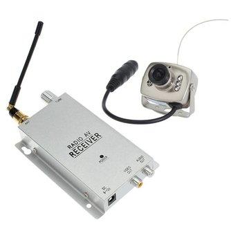 Draadloze Beveiligingscamera met Radio-ontvanger