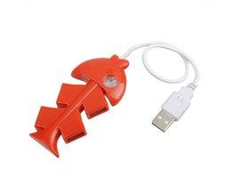 USB 2.0 Hub 4 Poorts