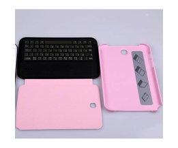 Hoesje + Keyboard voor Samsung Note N5100