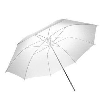 Witte Studio Paraplu voor Betere Verlichting