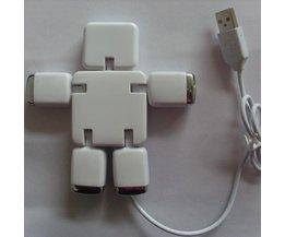 USB Splitter Hub 4 in 1
