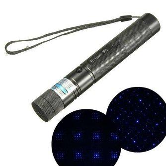 Krachtige Laserpen Paars met Verstelbare Focus